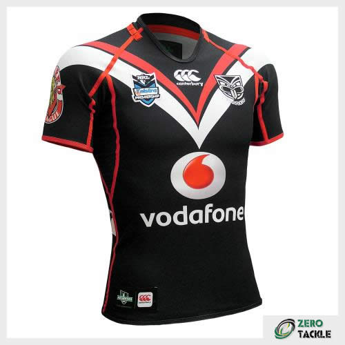 New Zealand Warriors Home Jersey
