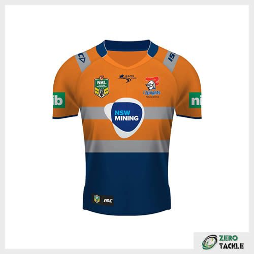 Newcastle Knights Alternate Jersey
