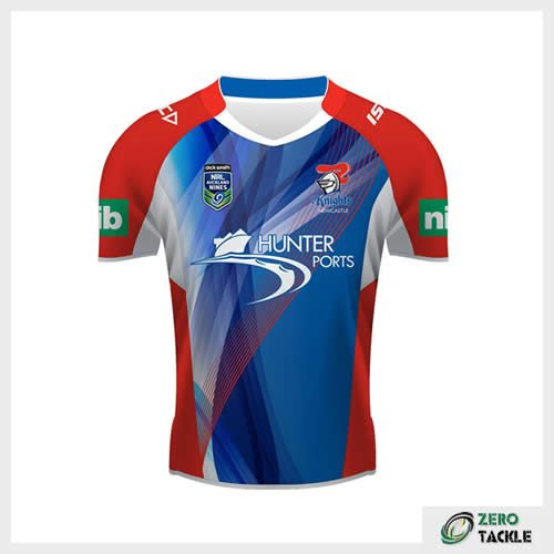 Newcastle Knights Nines Jersey