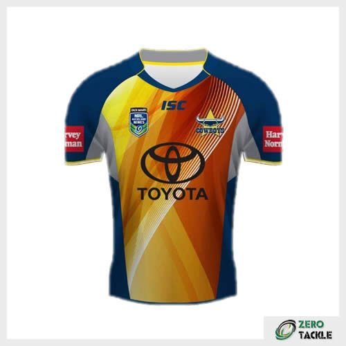North Queensland Cowboys Nines Jersey