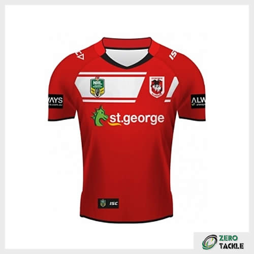 St George Illawarra Dragons Away Jersey