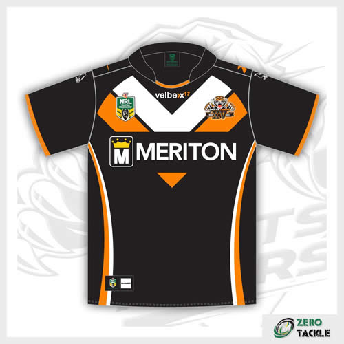 Wests Tigers Home Jersey