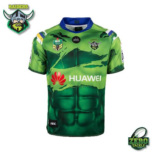 Canberra Raiders Marvel Jersey