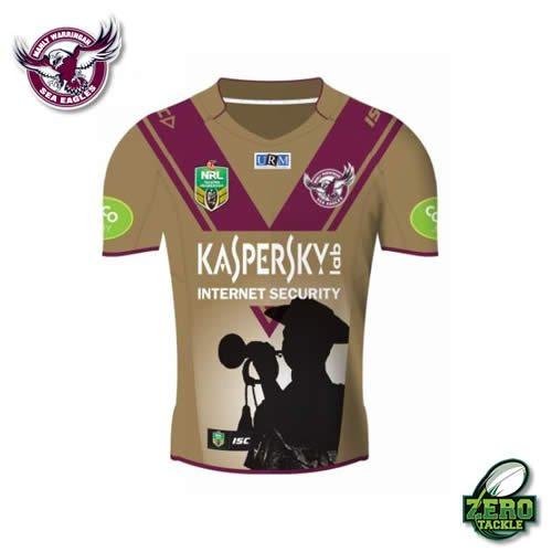 Manly Sea Eagles Anzac Jersey