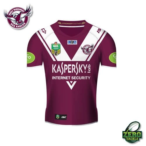 Manly Sea Eagles Home Jersey