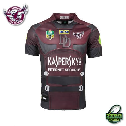 Manly Sea Eagles Marvel Jersey