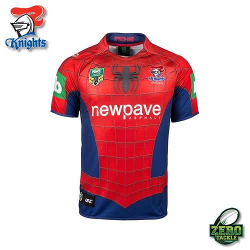 Newcastle Knights Marvel Jersey