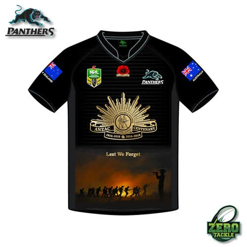 Penrith Panthers Anzac Jersey