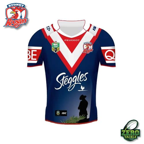 Sydney Roosters Anzac Jersey