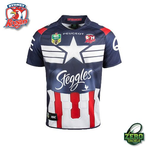 Sydney Roosters Marvel Jersey