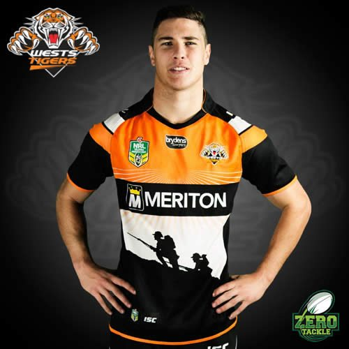 Wests Tigers Anzac Jersey