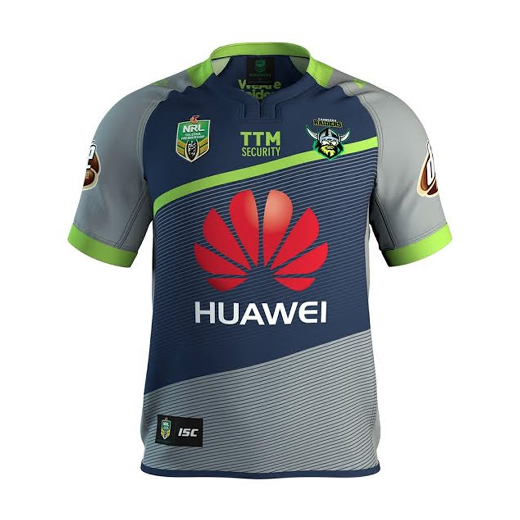 Canberra Raiders Alternate Jersey