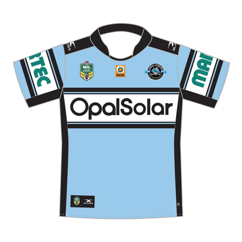 Cronulla Sharks Home Jersey