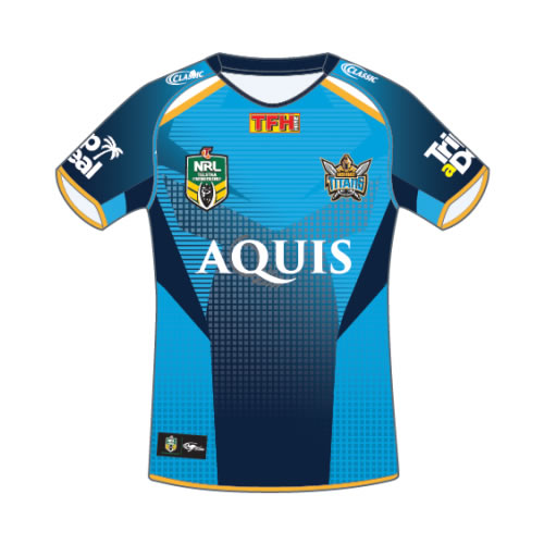 Gold Coast Titans Home Jersey