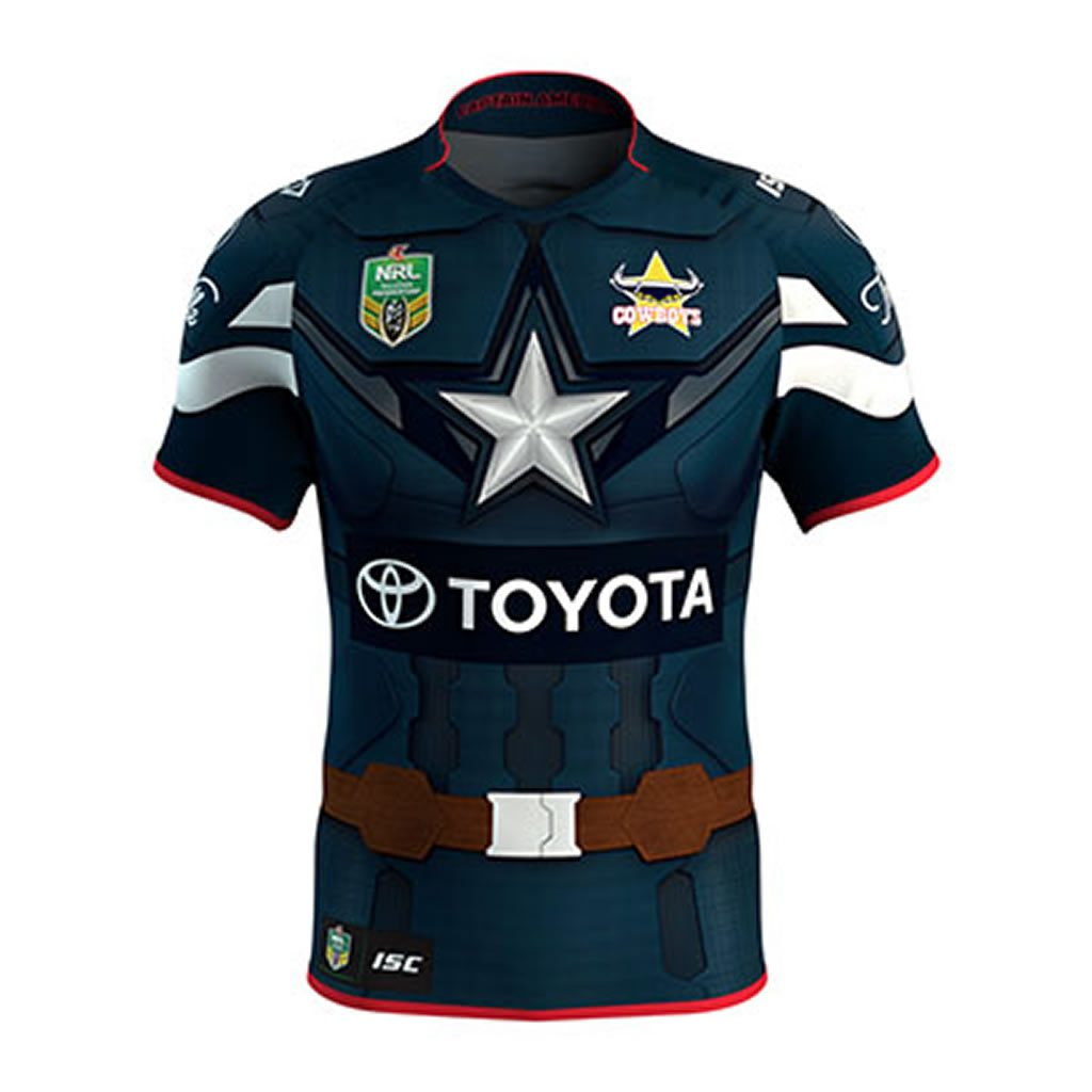 North Queensland Cowboys Marvel Jersey
