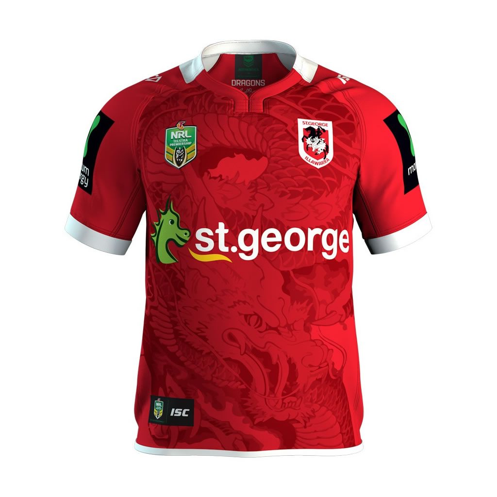 St George Illawarra Dragons Alternate Jersey