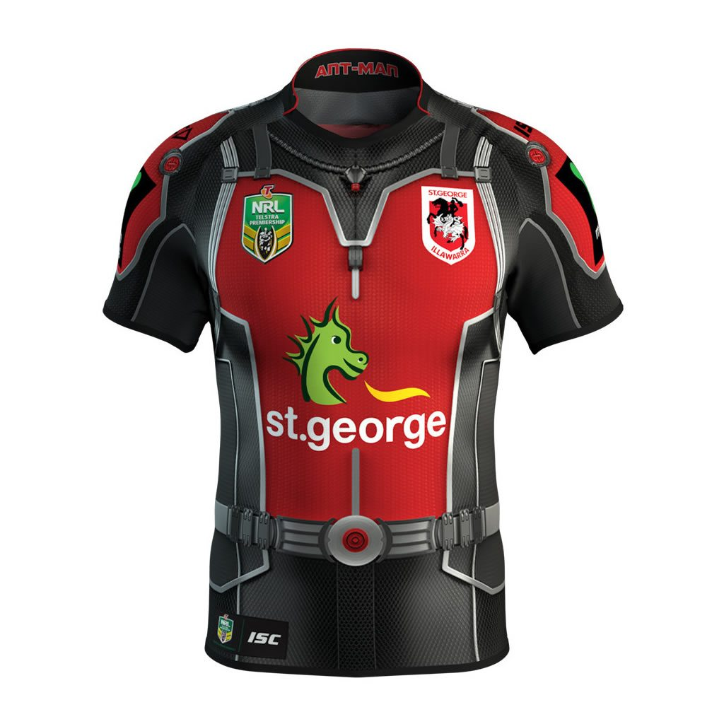 St George Illawarra Dragons Marvel Jersey