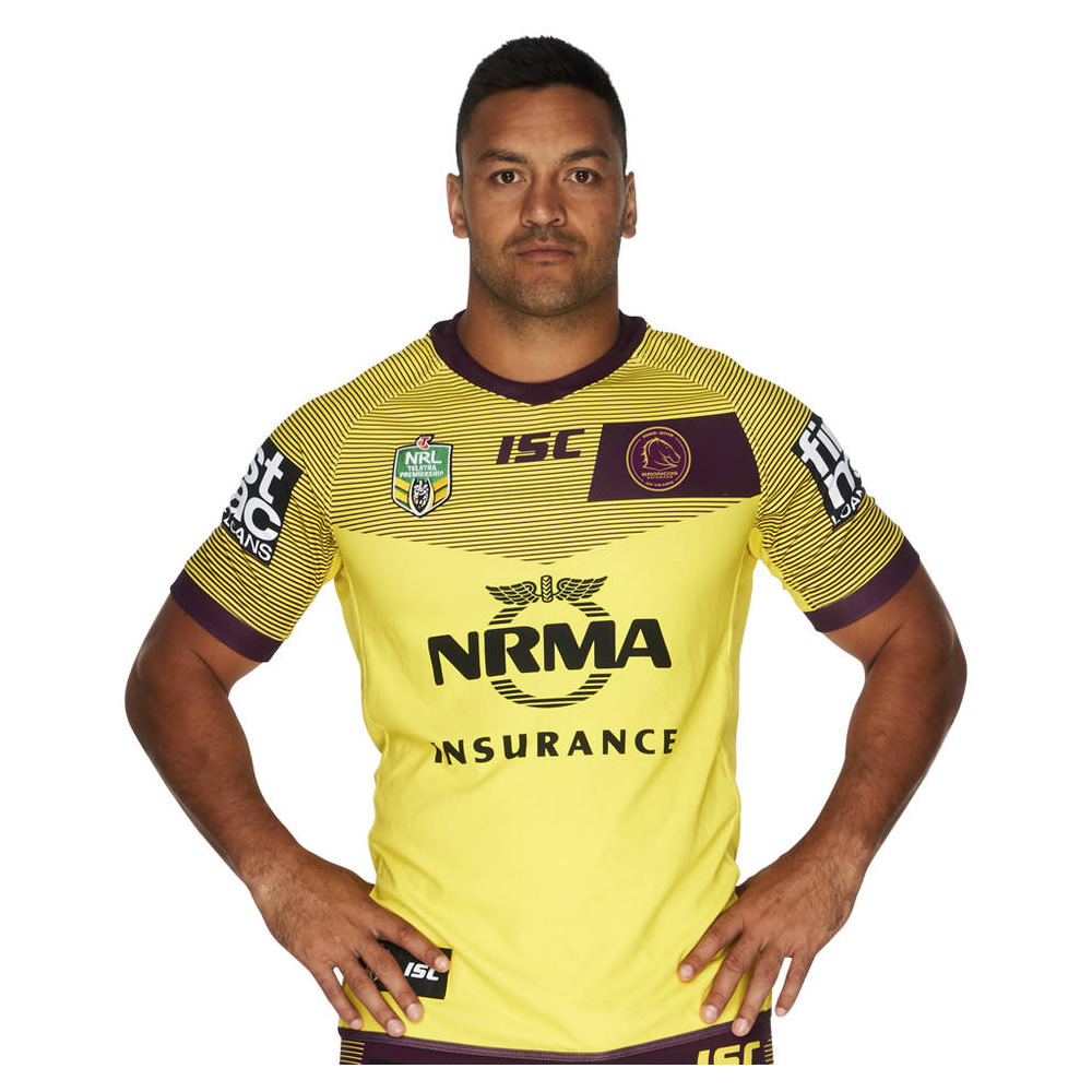 Brisbane Broncos Alternate Jersey
