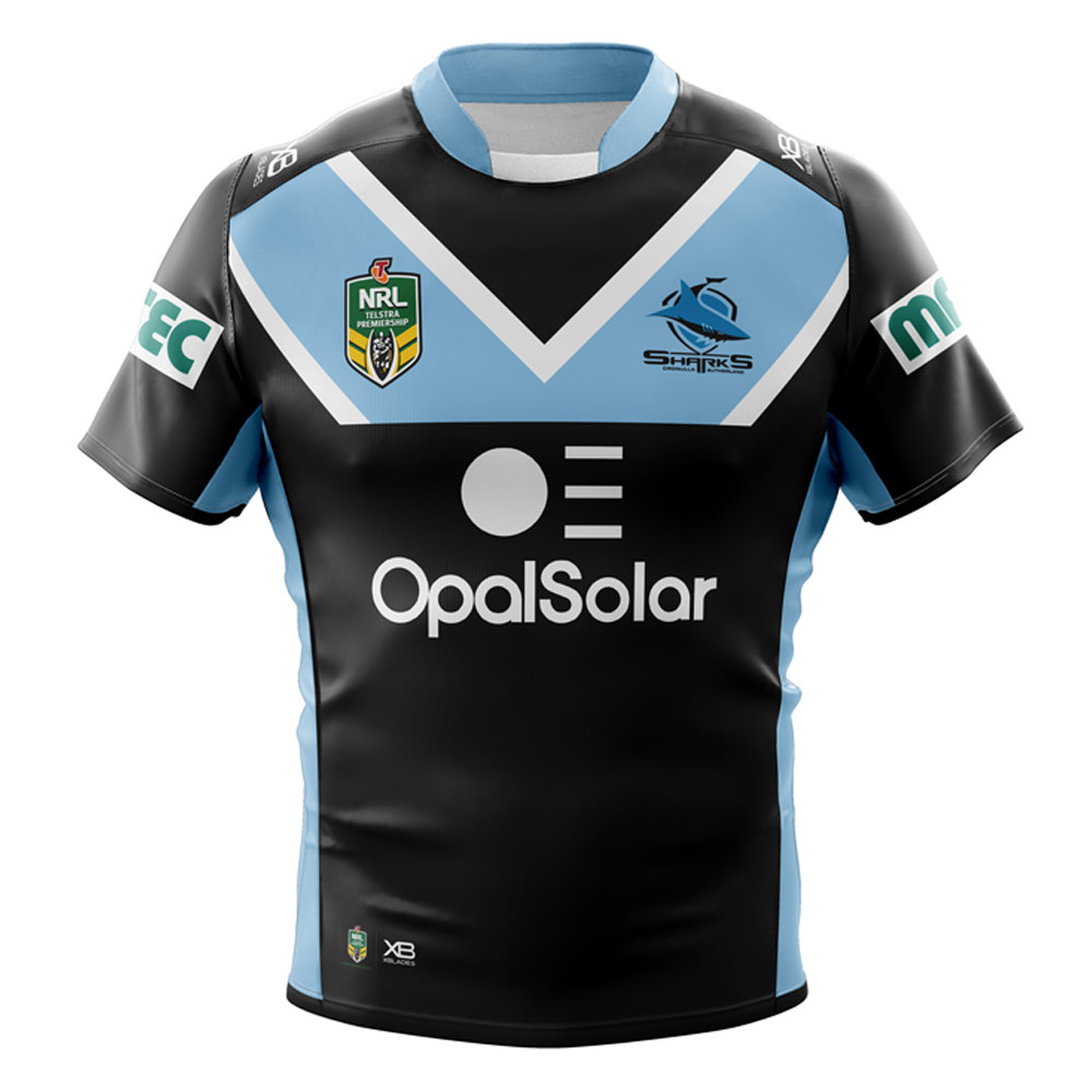 Cronulla Sharks 2018 Alternate Jersey