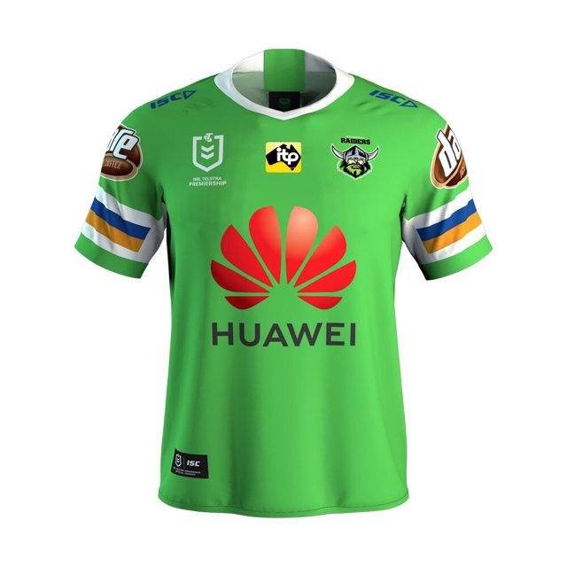 2019 Team Jerseys Canberra-raiders-home