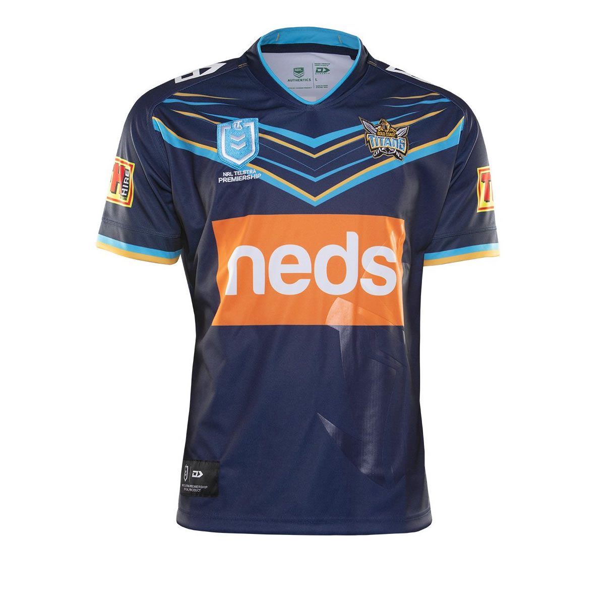 2019 Team Jerseys Gold-coast-titans-home