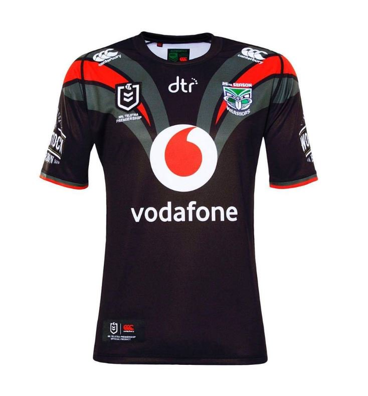 New Zealand Warriors Away Jersey