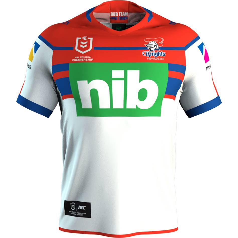Newcastle Knights Away Jersey