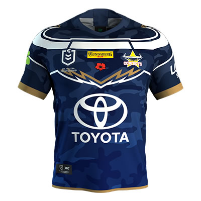 North Queensland Cowboys Anzac Jersey