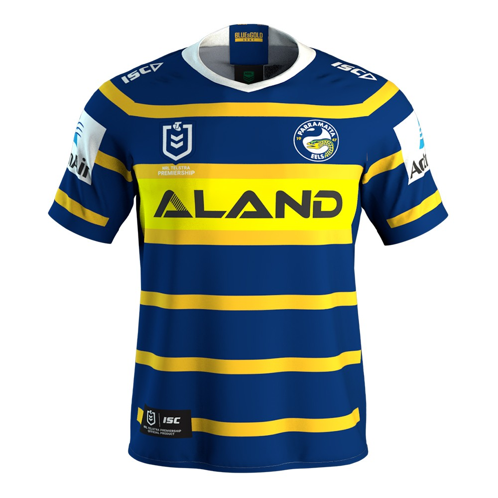 2019 Team Jerseys Parramatta-eels-home