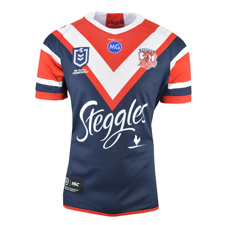 2019 Team Jerseys Sydney-roosters-home