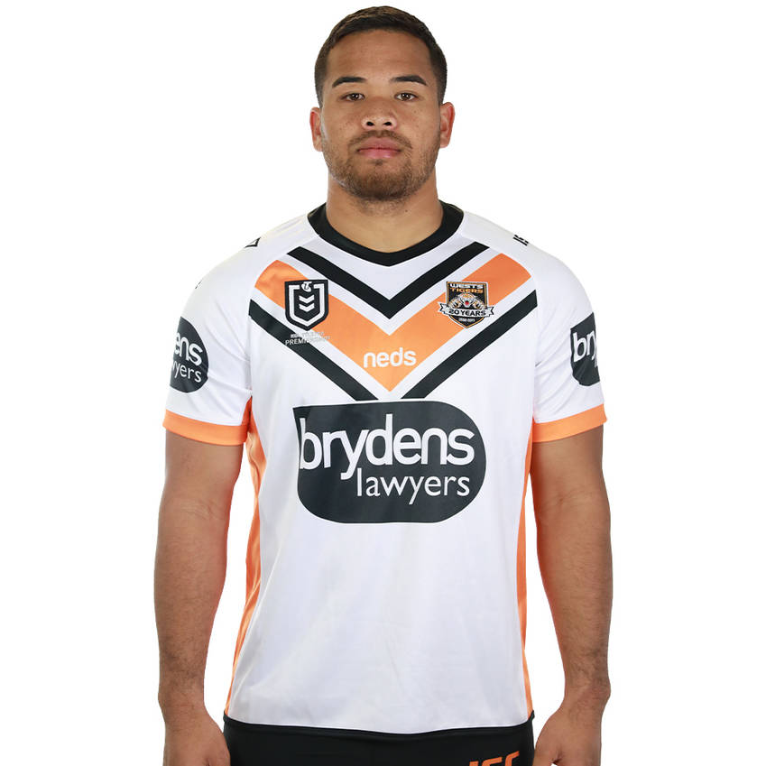 2019 Team Jerseys Wests-tigers-away