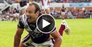 Brett Stewart try celebration clarified
