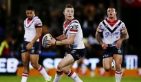 AUCKLAND, NEW ZEALAND - JUNE 13:  Jackson Hastings of the Roosters in action during the round 14 NRL match between the New Zealand Warriors and the Sydney Roosters at Mt Smart Stadium on June 13, 2015 in Auckland, New Zealand.  (Photo by Anthony Au-Yeung/Getty Images)