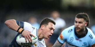 NRL Rd 16 - Sharks v Cowboys
